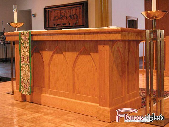 Altar torrijos for Muebles iglesia
